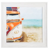 Beach Van Framed Wall Decor
