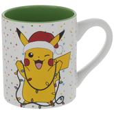 Pikachu & Christmas Lights Mug