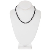Black Chain Necklace - 16""