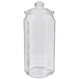 Hexagonal Glass Jar - 30 Ounce