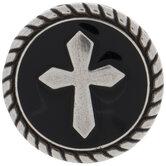 Round Cross Concho