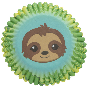 Sloth Baking Cups