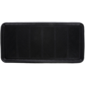 Black Rubber Boot Tray