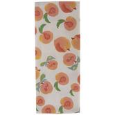 Watercolor Peaches Kitchen Towel