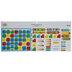 Red, Green & Blue Calendar Bulletin Board Set