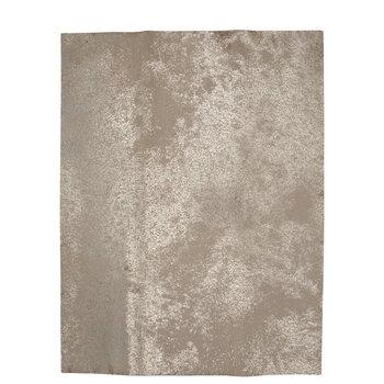 Metallic Crackle Leather Trim Piece