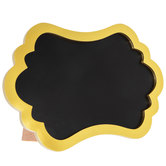 Gold Ornate Chalkboard