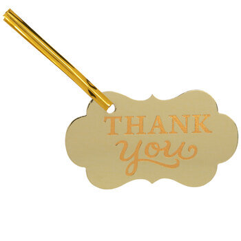 Thank You Treat Bag Tags