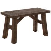 Sawmill Wood Bench
