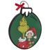 Dr. Seuss Grinch & Cindy Wood Wall Decor