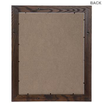 Oak Beveled Wood Wall Frame