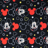 Mickey Mouse Toss Anti-Pill Fleece Fabric