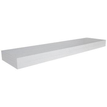 Floating Wood Wall Shelf