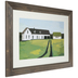 White Farmhouse Framed Wall Decor