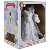 Animated Light Up Angel Tree Topper