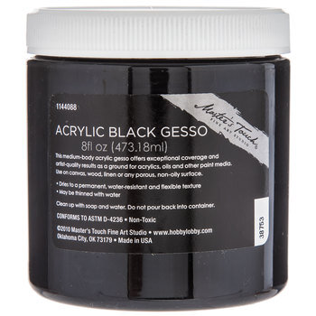 Master's Touch Acrylic Gesso