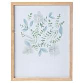 Green Watercolor Eucalyptus Framed Wall Decor