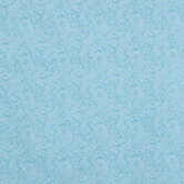 Light Blue Paisley Cotton Calico Fabric
