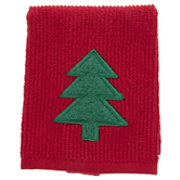 Christmas Tree Dishcloth & Scrubber