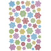 Fun Snowflake Foil Stickers