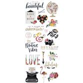 Hello Beautiful Foil Stickers
