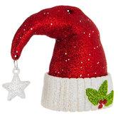 Santa Hat With Star Ornament
