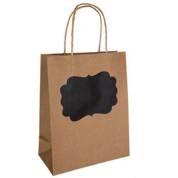 Chalkboard Label Kraft Gift Bags