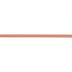 Bright Persimmon Double-Face Satin Ribbon - 3/8