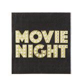 Movie Night Napkins - Small