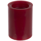 Red LED Wick Pillar Candle