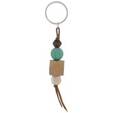 Bead Stacked Key Ring