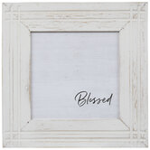 Blessed Distressed Wood Wall Decor