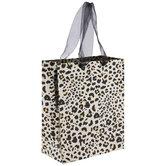 Gold Leopard Print Gift Bag