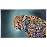 Multi-Color Jaguar Canvas Wall Decor