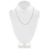 """Delicate Cable Chain Necklace - 18"""""""