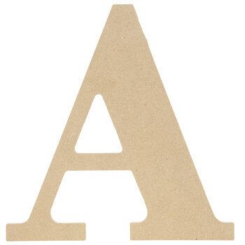 "Wood Letter - 9 1/2"""