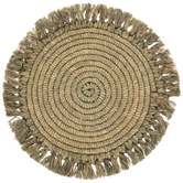 Coiled Hemp Plate Charger