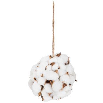 Cotton Sphere Ornament