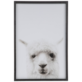 Alpaca Wood Wall Decor