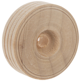 "Wood Tread Wheels With 1/4"" Hole - 1 1/2"""