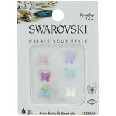 Swarovski Butterfly Beads - 6mm