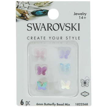Swarovski Butterfly Beads - 6mm