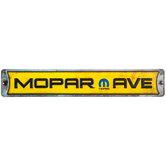 Mopar Avenue Metal Sign