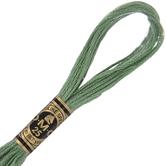 320 Medium Pistachio Green DMC Cotton Embroidery Floss