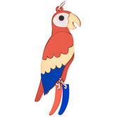 Scarlet Macaw Pendant