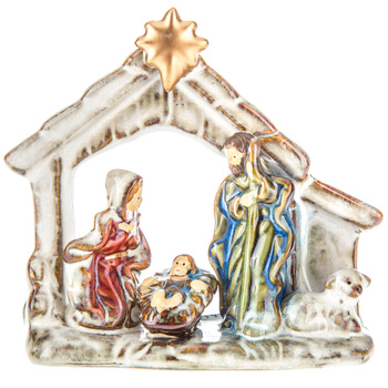 Nativity Scene With Star