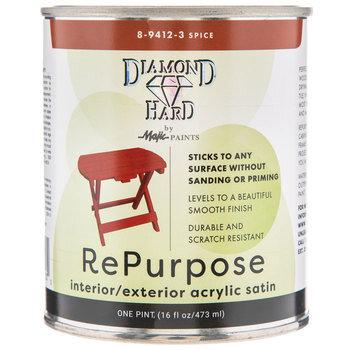 Spice Repurpose Acrylic Satin Paint