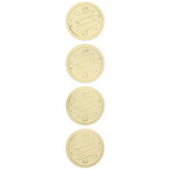 Foil Classic Flourish Envelope Seals