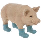 Blue Boots Pig