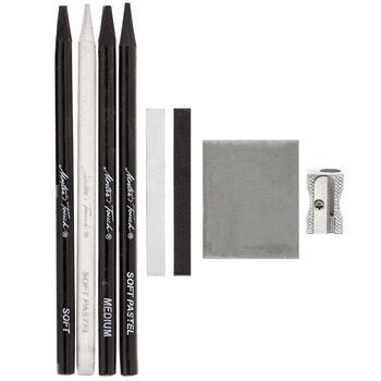 Pastel & Charcoal Pencils - 8 Piece Set